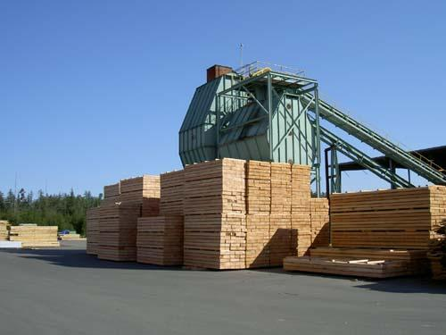 #2 Mill-Example of Douglas Fir products.